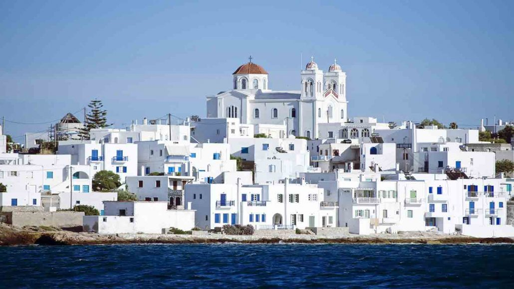 paros - antiparos daily cruise from mykonos Eversails