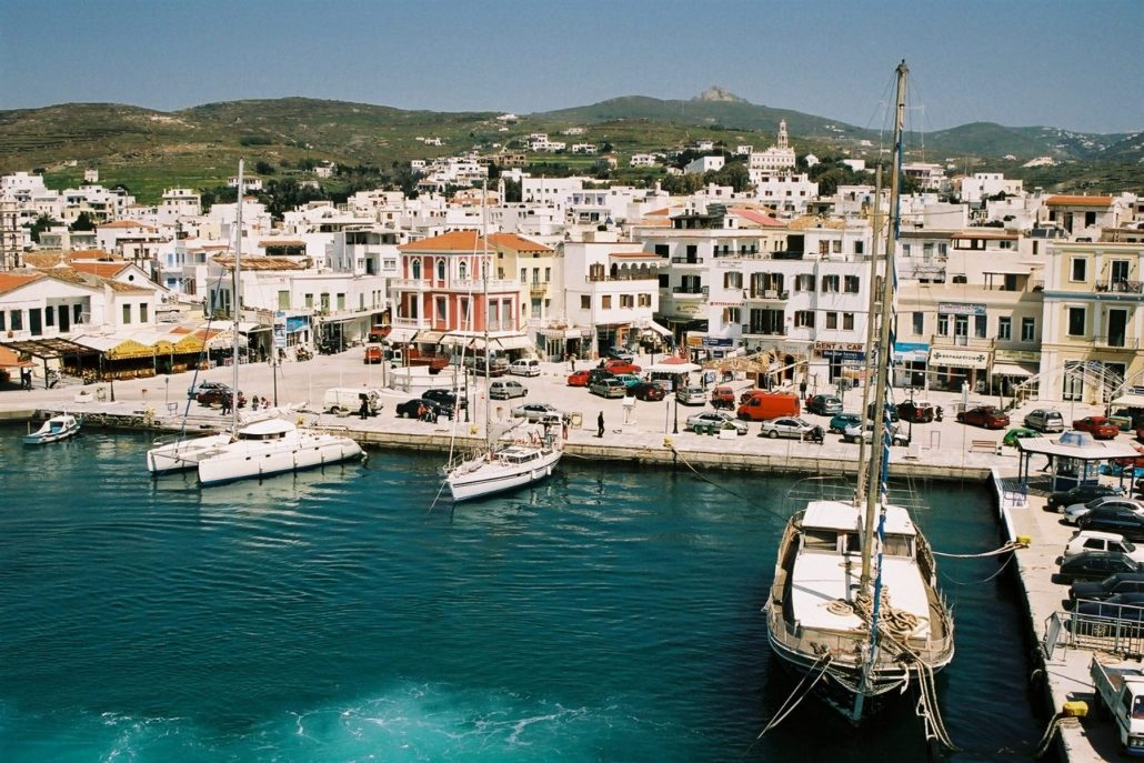 port tinos cruise - Eversails yachting in Greece