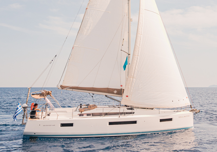 Sun Odyssey 440 - Charter sailing yacht in Lavrion