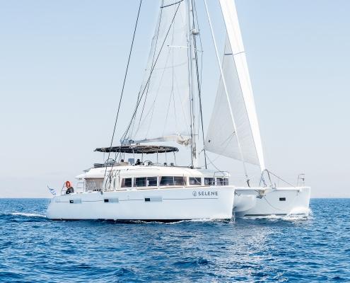 Sailing Catamaran Greece
