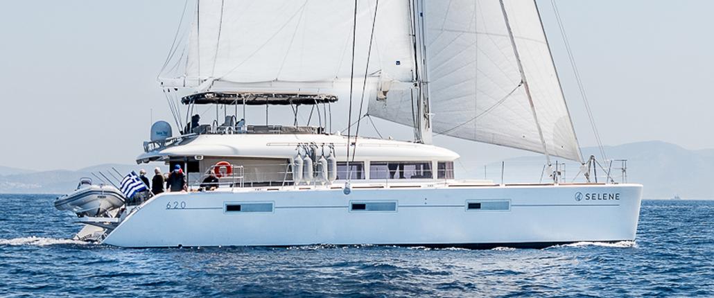 Catamaran chartering in Greece