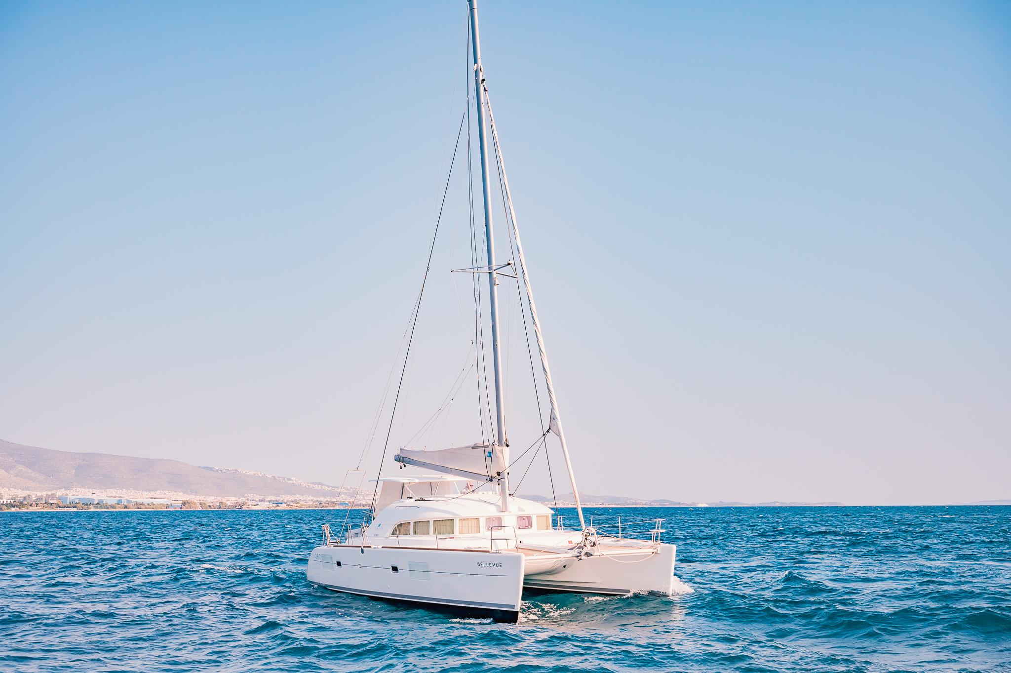 Lagoon 380s, Bellevue - Catamaran Charteting in Greece - Exterior (1)