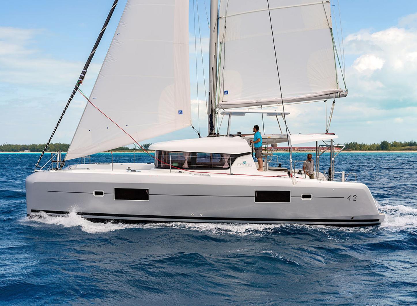 Lagoon 42 - Catamaran for charter in Greece - Eversails Chartering
