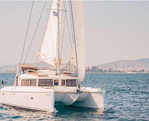 Lagoon 421 - Catamaran Charter in greece