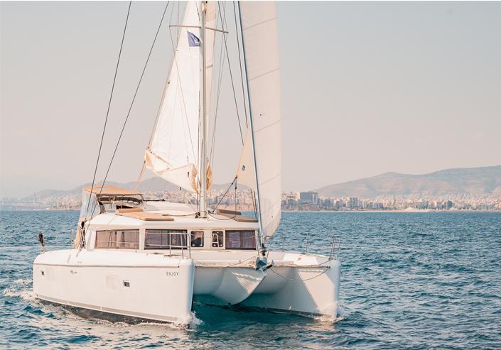 Lagoon 421 - Catamaran Charter in greece