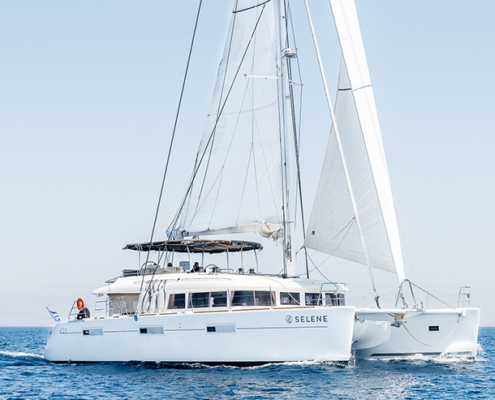 Lagoon 620 - Crewed charter in Greece