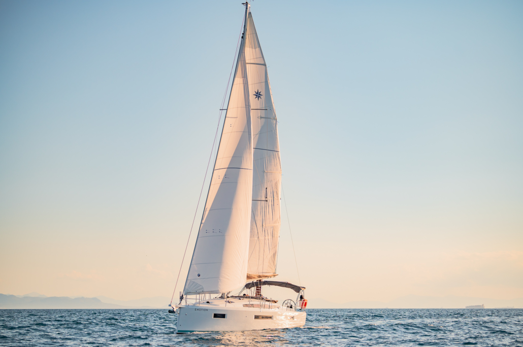 Sun Odyssey 410, Emotion - Sail boat in Athens - Exterior (10).