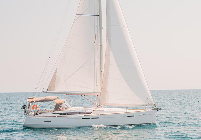 Sun Odyssey 449 - Sailing in Greece